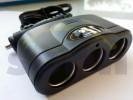 adaptér pro zásuvku zap.tří  pól.12V 15A